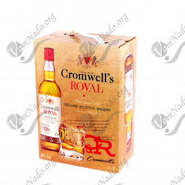 "Виски кромвелс роял (cromwell's royal) 3 литра товар original ""Duty Free"""